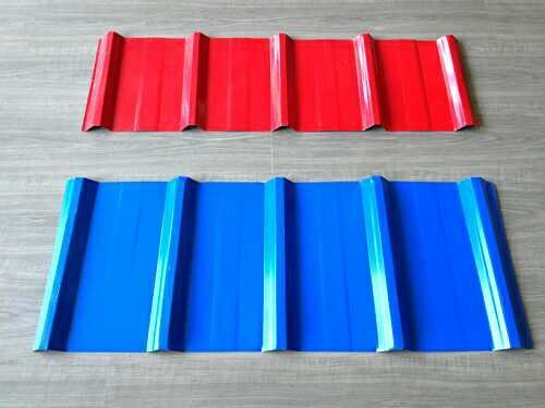 COLOR CORRUGATED STEEL